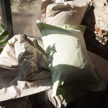 Постельное белье из сатина Премиум Лайм