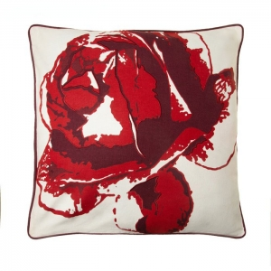 Подушка декоративная Роза индийский хлопок