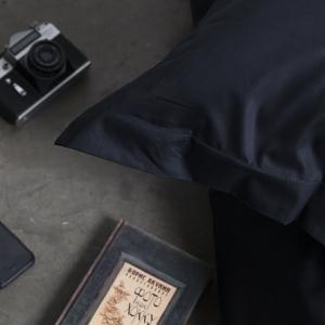 Постельное белье из сатина Премиум Черный