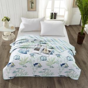 Покрывало-одеяло стеганное Рыбки